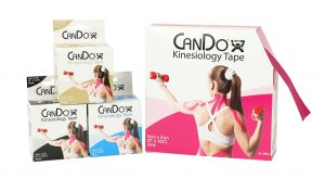 Athletic Training Tools - CanDo® Kinesiology Tape