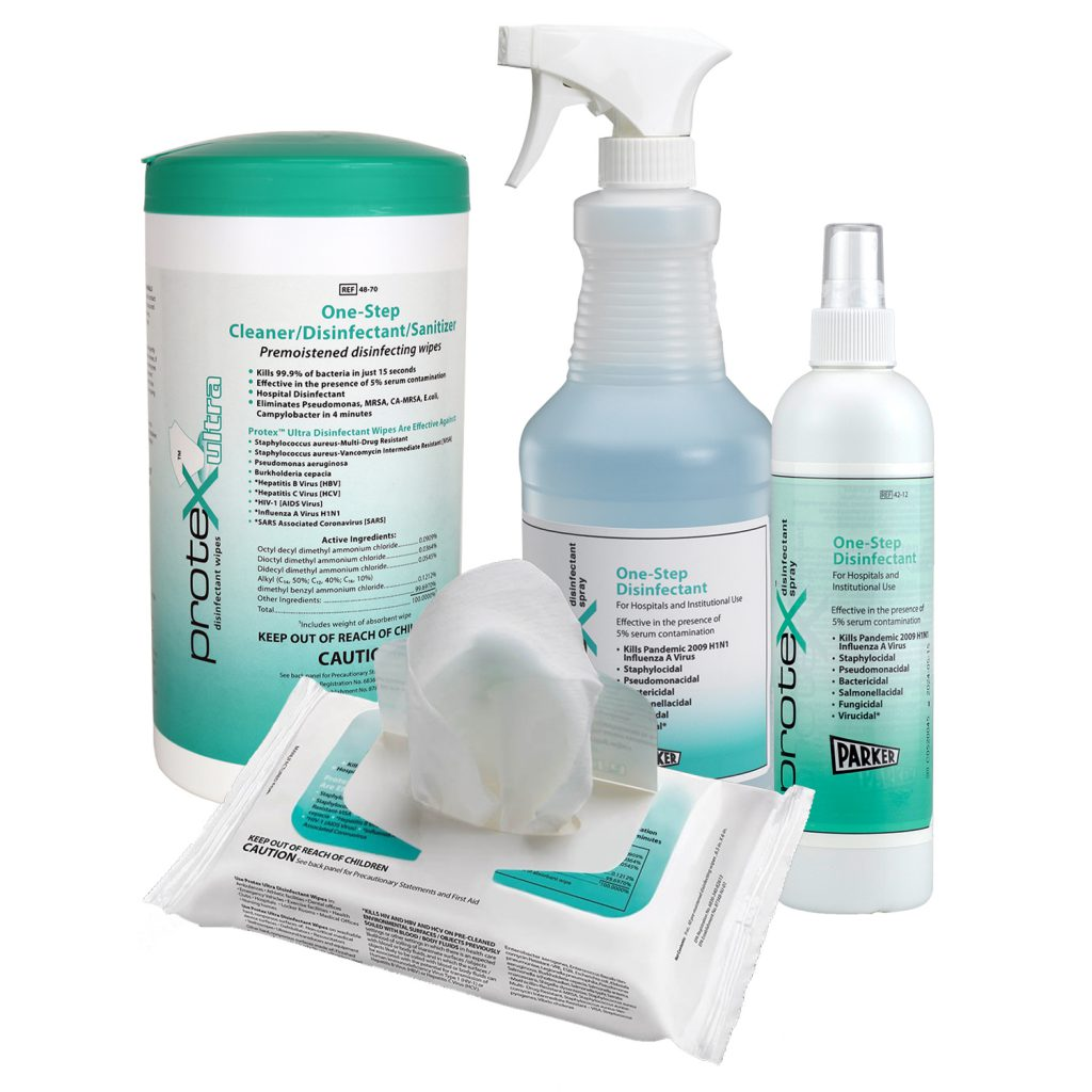 Use Protex™ to Disinfect your Home