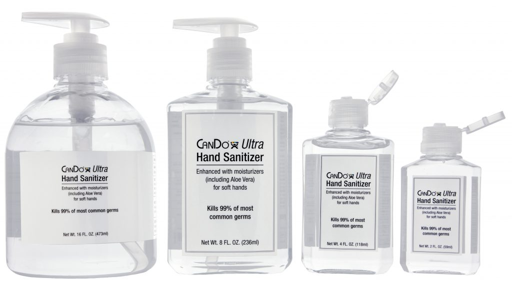Stay Safe with CanDo® Ultra Hand Sanitizer