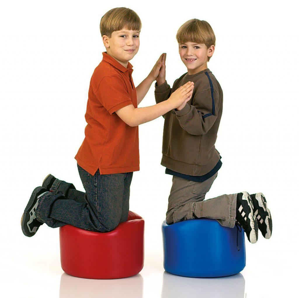 """Togu Dynair Balance Seat, 14"""" x 11"""", Red"""